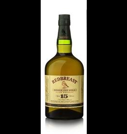 Irish Whiskey Redbreast 15 year Single Pot still Irish Whisky 750ml