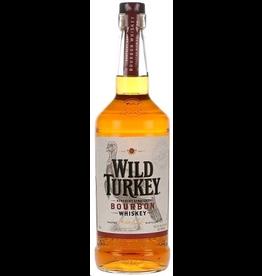 Bourbon Whiskey Wild Turkey Bourbon 81 Proof 1Liter