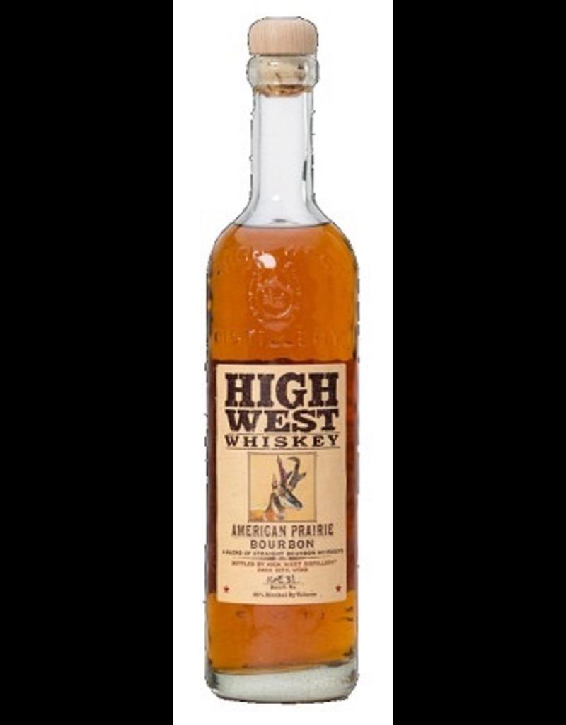Bourbon Whiskey High West Whiskey American Prairie 750ml
