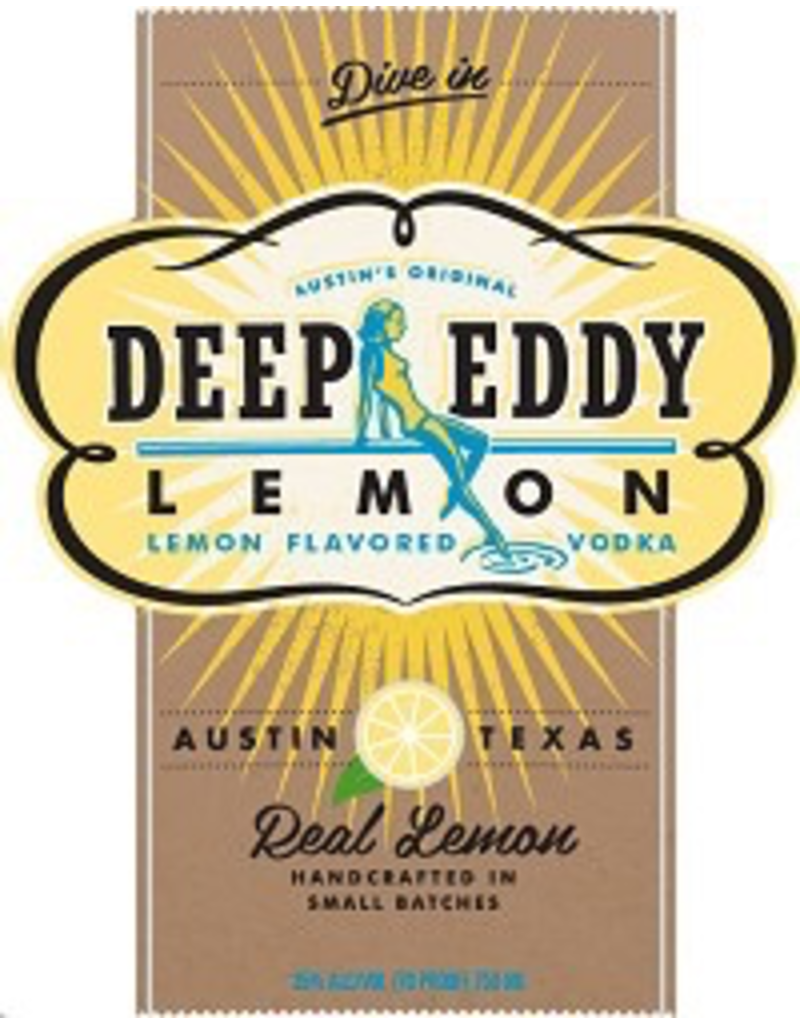 vodka Deep Eddy Lemon 1.75 Liters