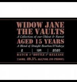 Bourbon Whiskey Widow Jane The Vaults 15Year Old Bourbon 750ml