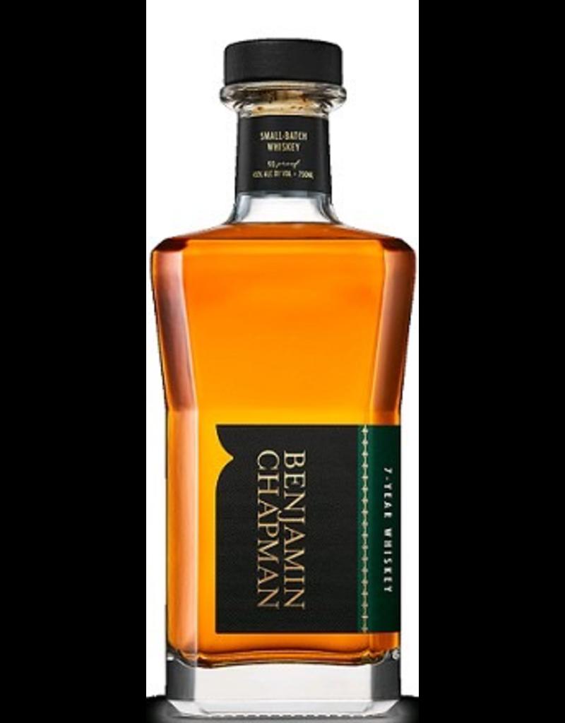 Bourbon Whiskey Benjamin Chapman Whiskey 7 Year Old 750ml