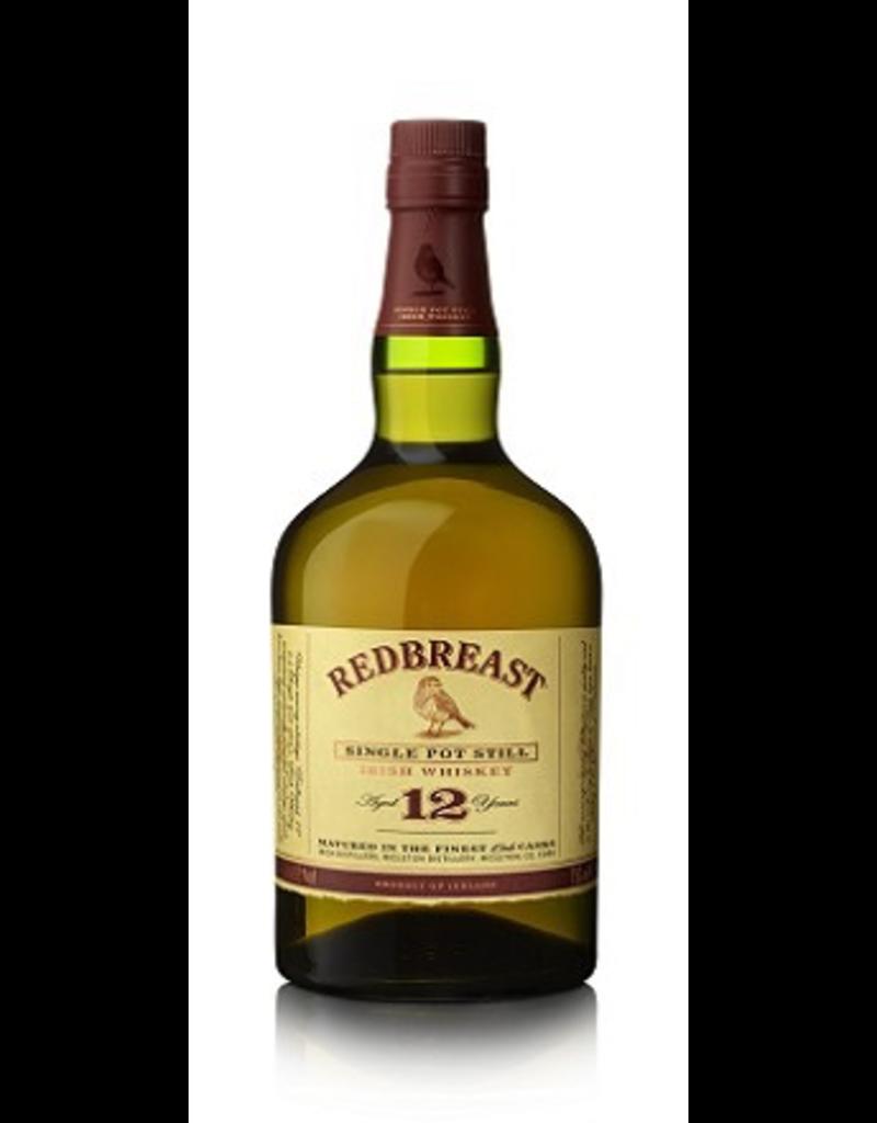 Irish Whiskey Redbreast Irish Whiskey 12 Year   old 750ml