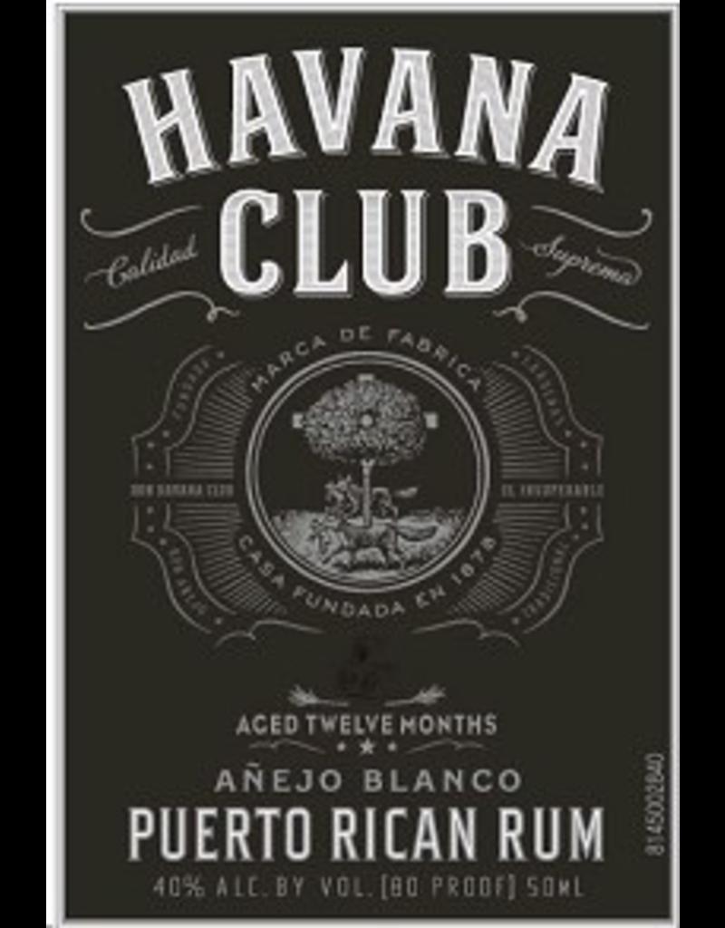 rum Havana Club Anejo Blanco Puerto Rican Rum 750ml
