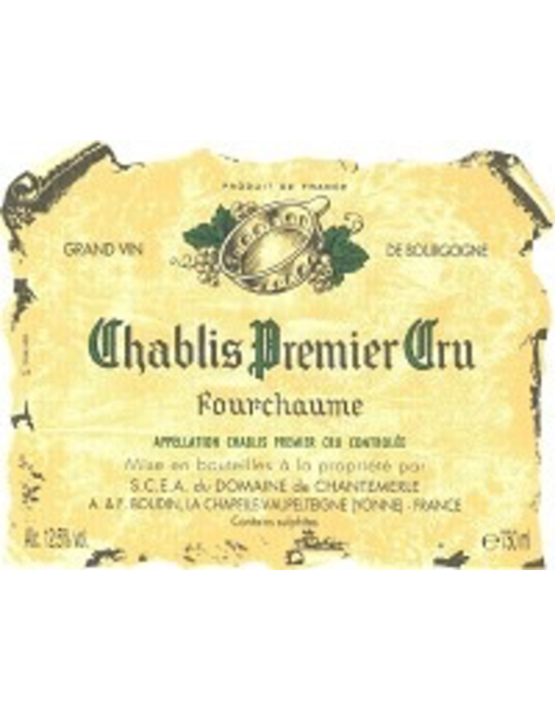 Burgundy French Domaine Boudin Chablis Fourchaume 2018 750ml