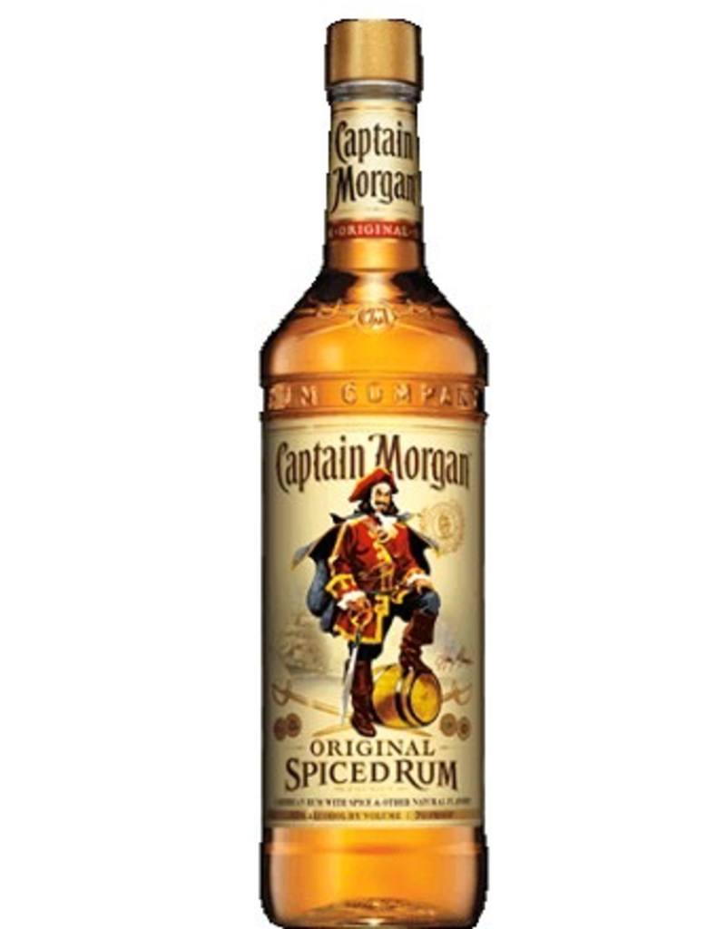 rum Captain Morgan Spiced Rum 1 Liter