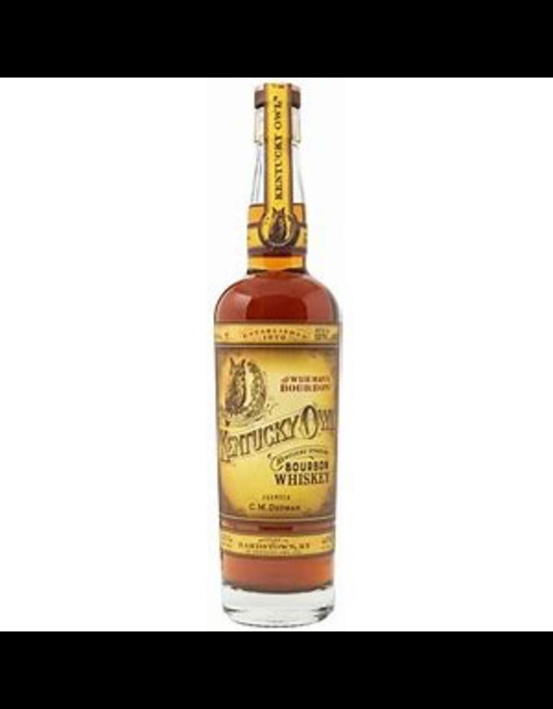 Bourbon Whiskey Kentucky Owl Wise Man Batch  #10 Bourbon Whiskey 750ml 60.1% Alc/ Vol