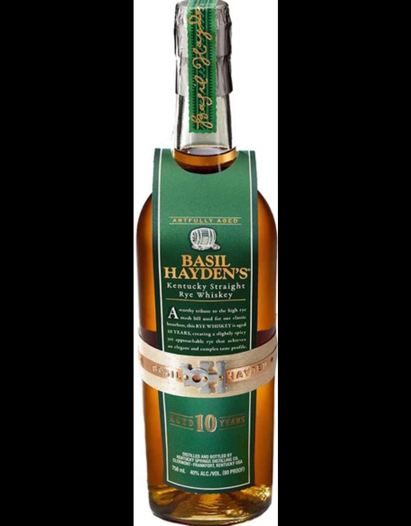 Rye Whiskey Basil Hayden's Rye 10 year old 750ml