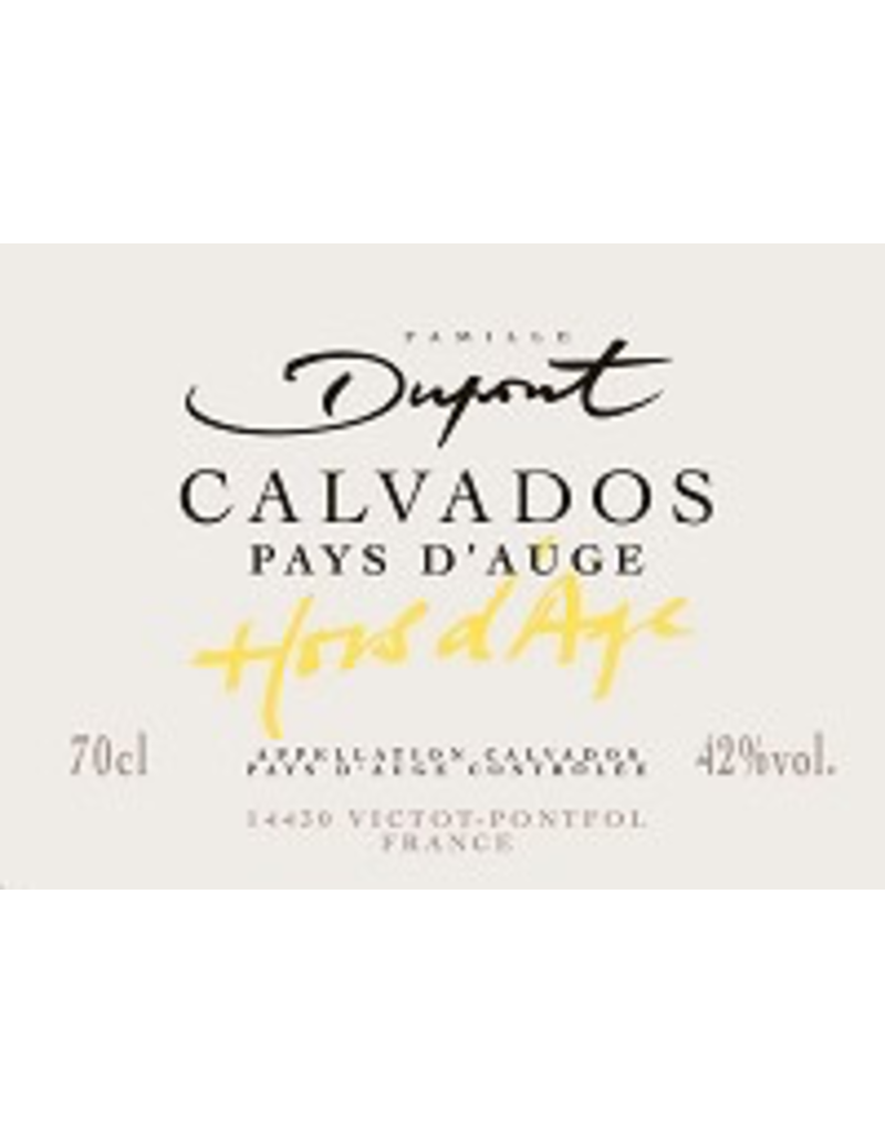 CALVADOS Domaine Dupont Calvados Pays D'Auge 750ml