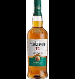 Single Malt Scotch The Glenlivet Scotch Single Malt 12 Year Double Oak  1.75L