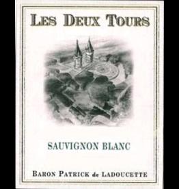 Sauvignon Blanc France Baron Patrick Ladoucette Les Deux Tours Sauvignon Blanc  2017 Loire Touraine France 750ml