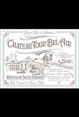 Bordeaux Red Chateau Tour Bel Air Montagne Saint-Emillion 2018 750ml