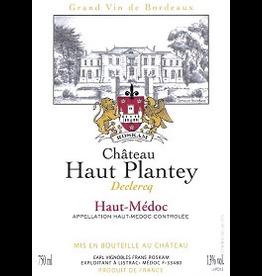 Bordeaux-Haut Medoc Chateau Haut Plantey Declercq Haut Medoc 2015 750ml