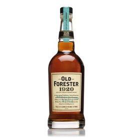 Bourbon Whiskey Old Forester 1920 Prohibition Style Bourbon 115 Proof 750ml