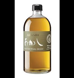 Japanese Whisky Akashi White Oak Single Malt Japanese Whiskey 750ml