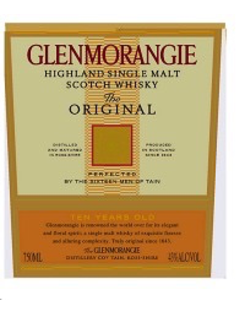 Single Malt Scotch Glenmorangie The Original Single Malt Scotch 750ml