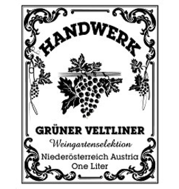Gruner SALE Handwerk Gruner Veltliner Weingartenselektion 1Liter REG $19.99