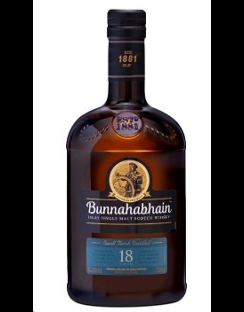 Single Malt Scotch Bunnahabhain Scotch Single Malt 18 Year 750ml