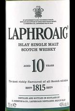 Single Malt Scotch Laphroaig 10yr Single Malt Scotch 750ml