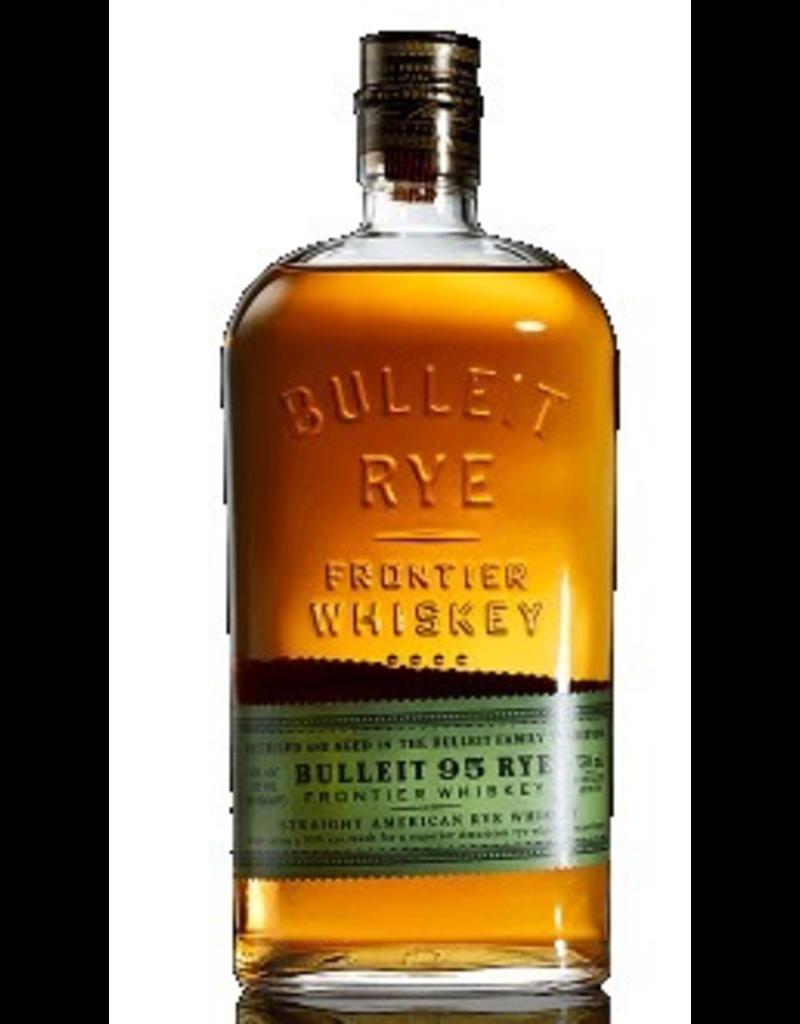 Rye Whiskey Bulleit 95 Rye Frontier Whiskey Straight American Rye Whiskey 95 proof 375ml