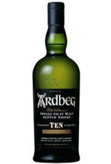 Single Malt Scotch Ardbeg Ten yr old Islay Single Malt Scotch 750ml