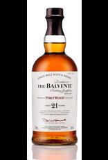 Single Malt Scotch SALE The Balvenie Scotch Single Malt 21 Year Portwood 750ml REG $329.99