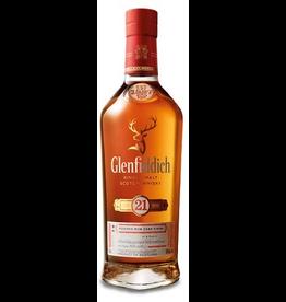 Single Malt Scotch Glenfiddich 21 year Reserva Rum Cask Single Malt Scotch 750ml