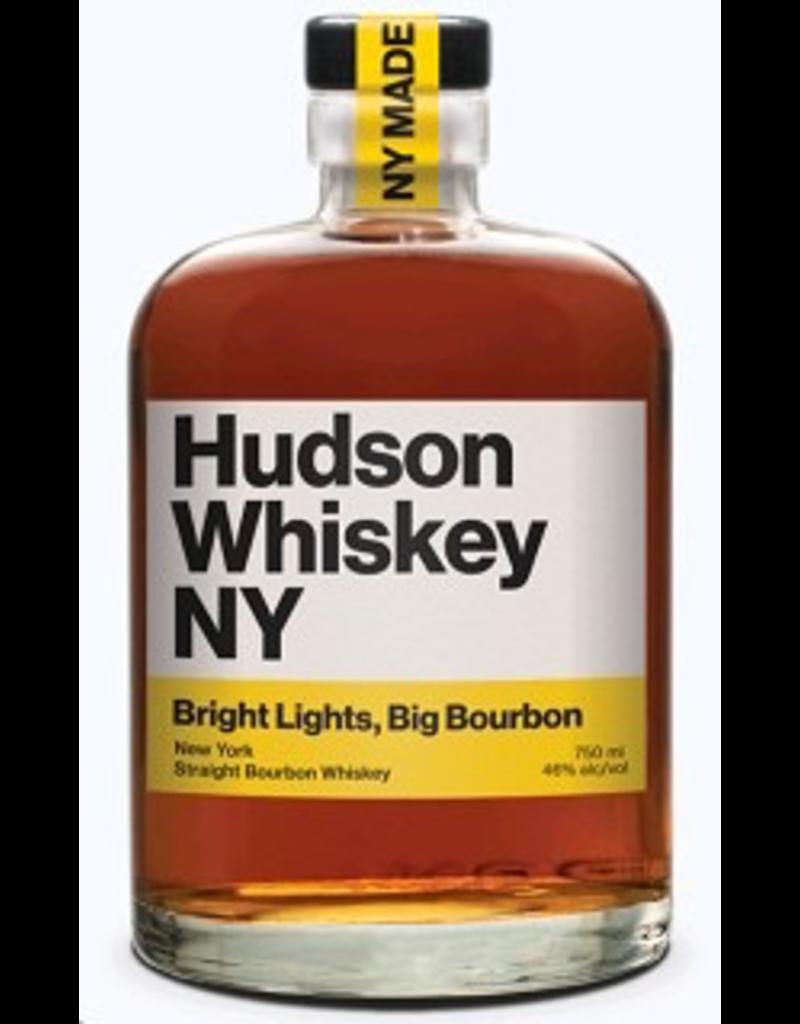 Bourbon Whiskey Hudson Whiskey NY Bright Lights Big Bourbon 750ml