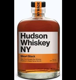 American Rye Whiskey Hudson Whiskey NY Short Stack Straight Rye Whiskey Maple Syrup Barrel Finished 750ml