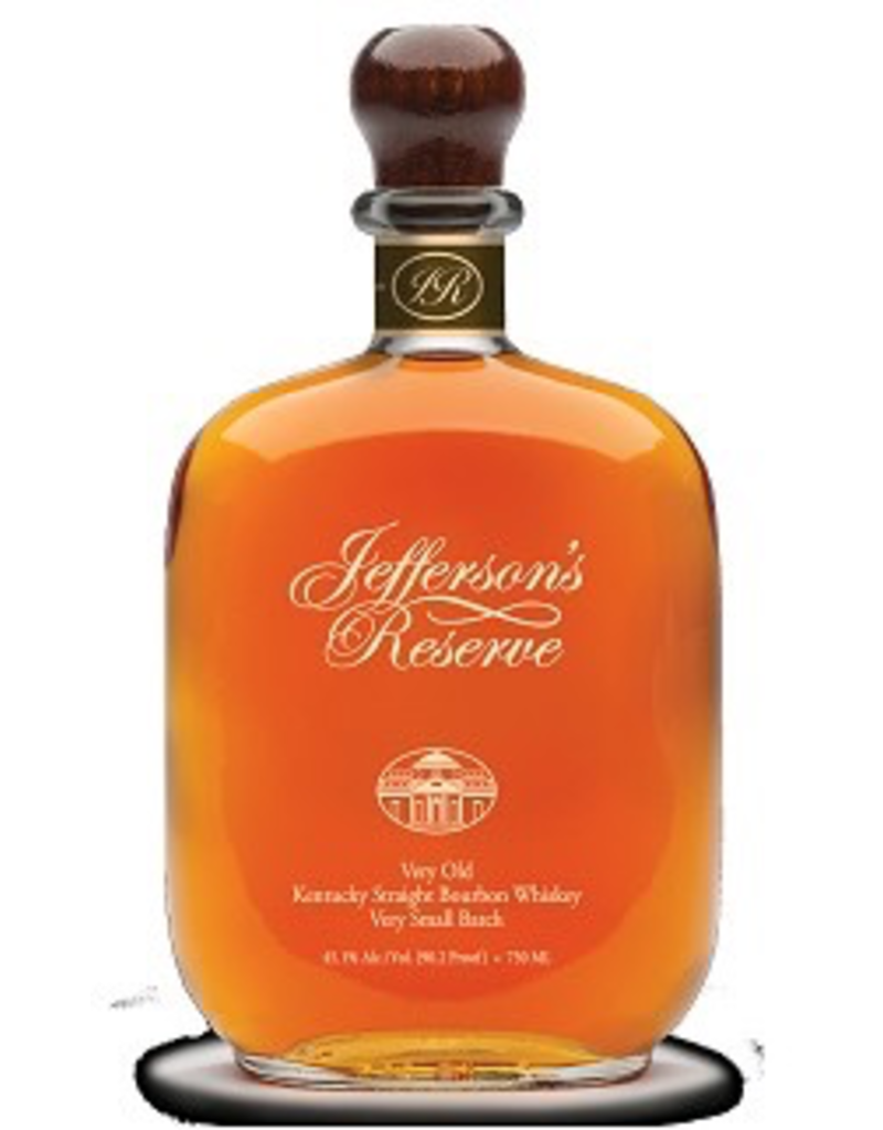 Bourbon Whiskey Jefferson's Bourbon Reserve 90.2 750ml