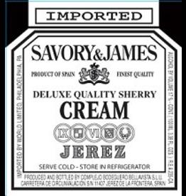 Sherry Savory & James Cream Sherry 750ml