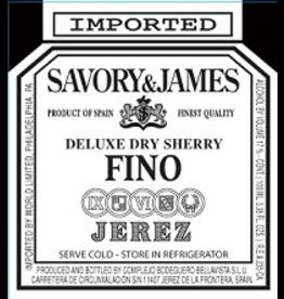 Sherry Savory & James Fino Sherry 750ml