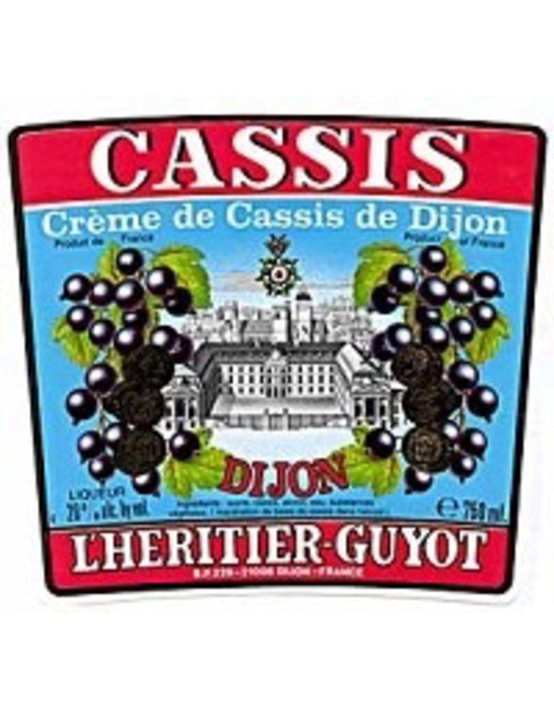 Cordials L'Heritier-Guyot Creme de Cassis Liqueur 750ml