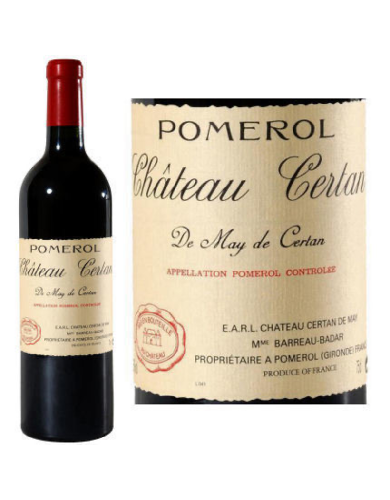 Bordeaux Red Certan de May Pomerol 2013 750ml
