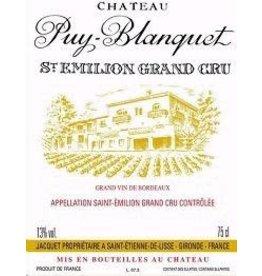 Bordeaux Saint-Emillion Chateau Puy Blanquet St. Emilion Grand Cru 2016 750ml