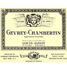 Burgundy French SALE Domaine Louis Jadot Gevrey-Chambertin 2016/2018 REG $69.99