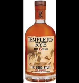 Rye Whiskey Templeton Rye Rye Whiskey 6 Year The Good Stuff  750ml