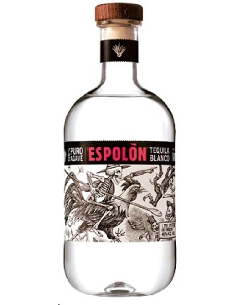Tequila Espolon Blanco Tequila Liter