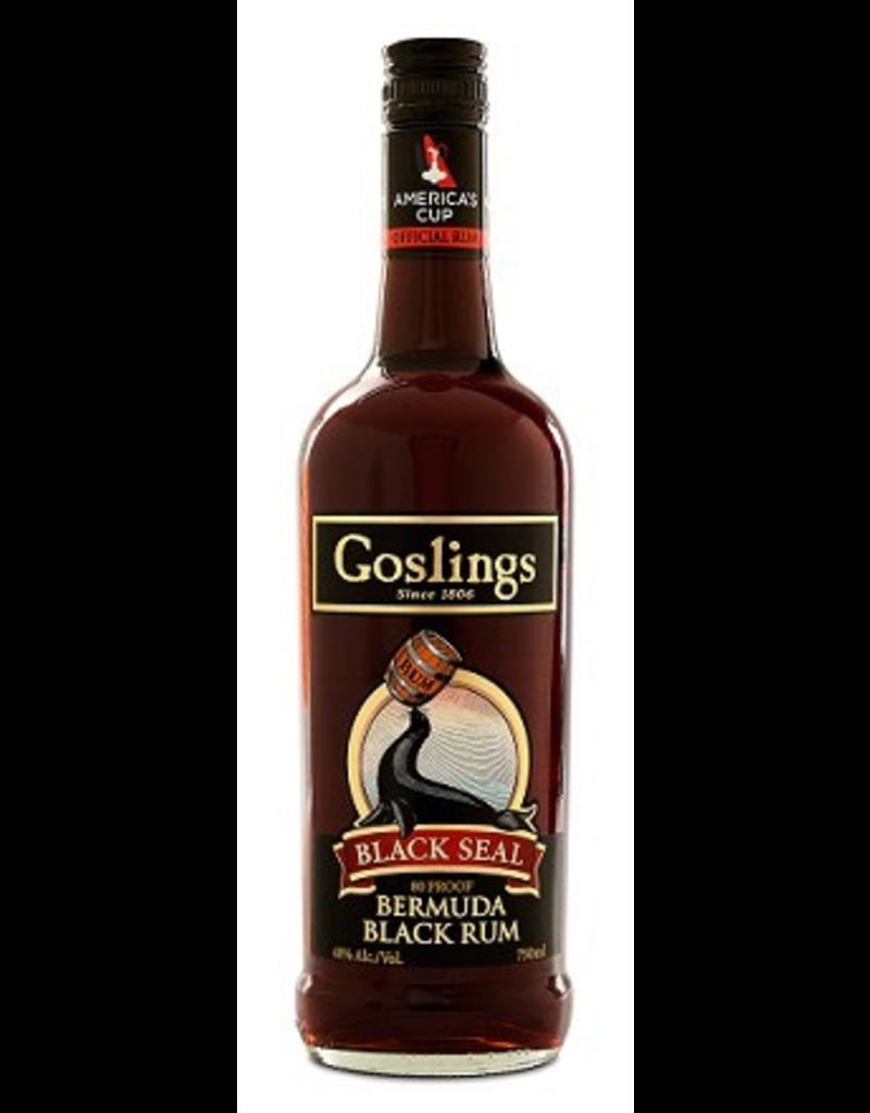 rum Goslings Black Seal Rum 1.75 Liters