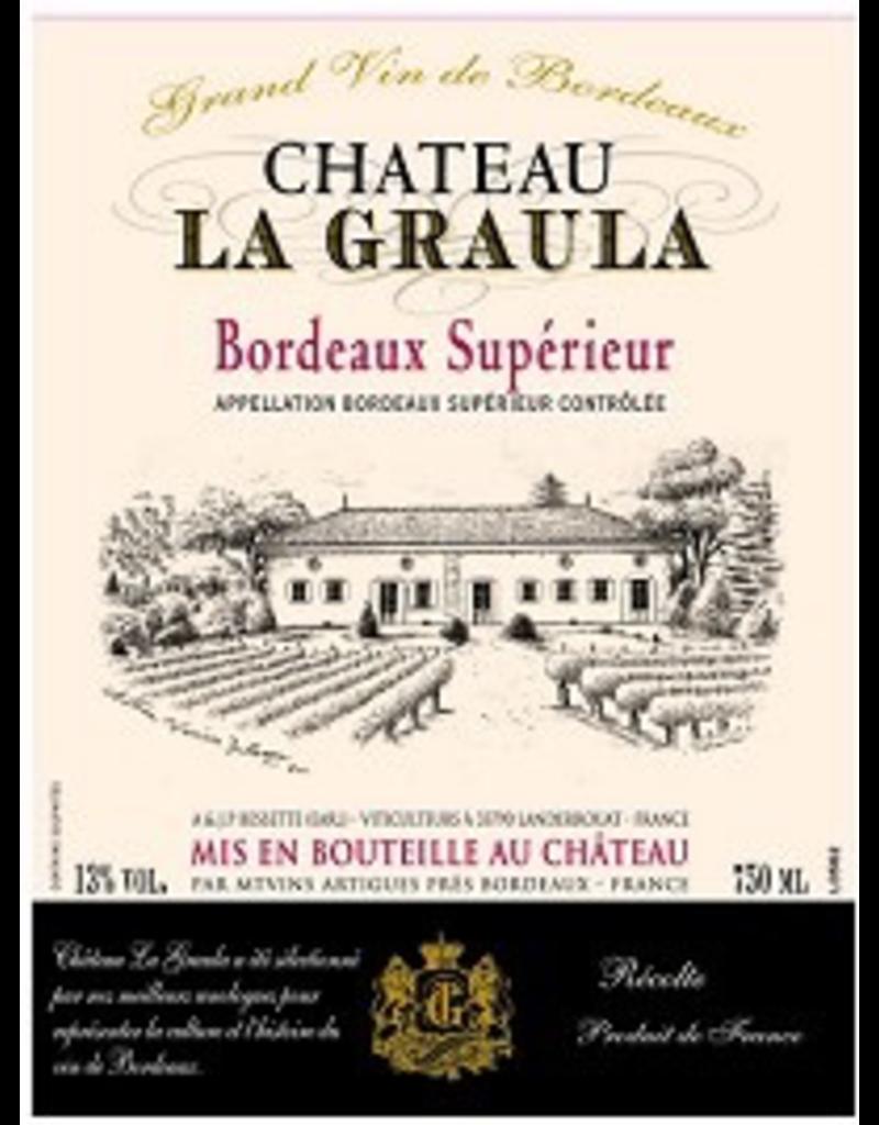 Bordeaux Red Chateau La Graula Bordeaux Superieur 2016 750ml