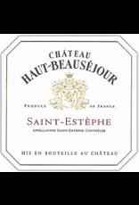 BORDEAUX-SAINT-ESTEPHE Chateau Haut-Beausejour Saint-Estephe 2017 Bordeaux 750ml