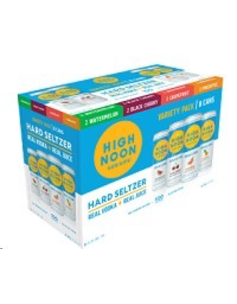 CAN MIXED DRINK High Noon Sun Sips Vodka & Soda 12 pack Assorted Flavors 355ml cans
