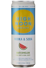 CAN MIXED DRINK High Noon Sun Sips Vodka & Soda Watermelon 4 Pack 355ml cans