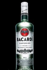 rum Bacardi Silver Rum 1.75 Liters