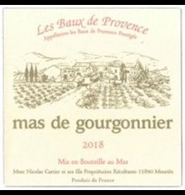 French Red Mas de Gourgonnier Les Baux de Provence Rouge 2018 ORGANIC