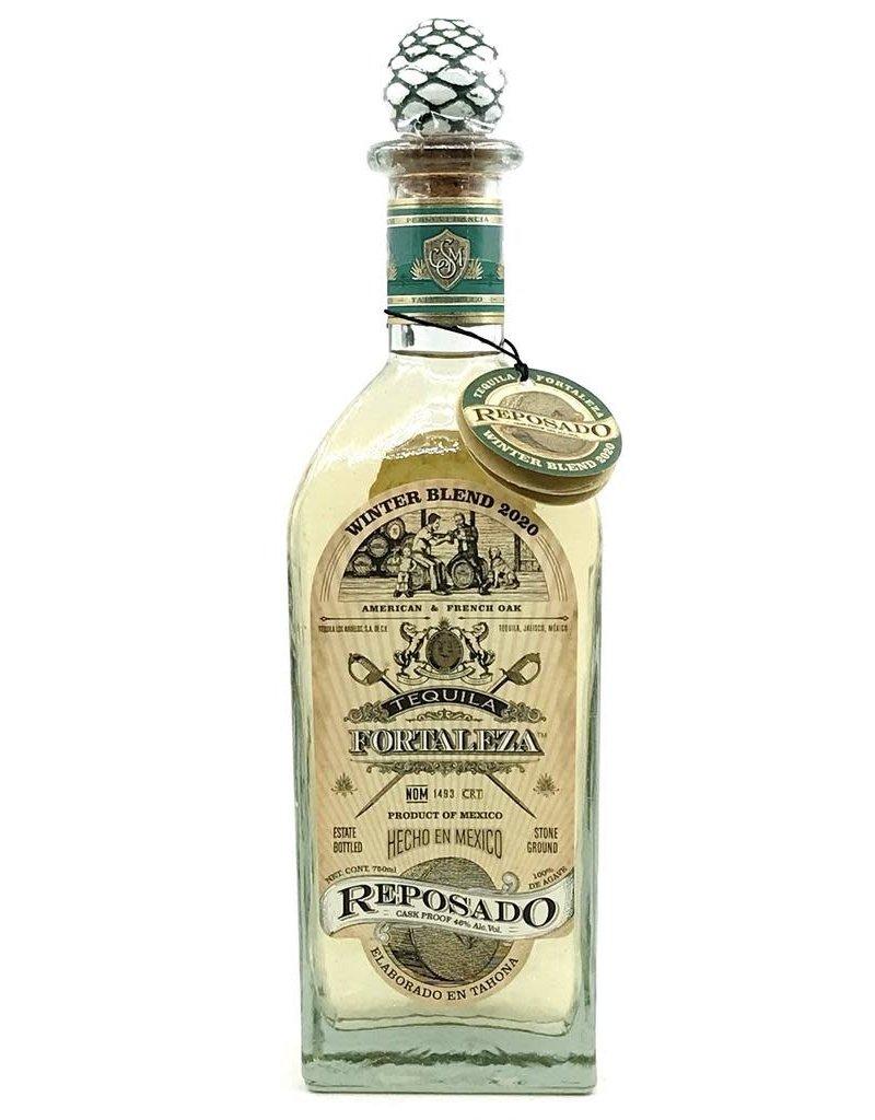 Tequila Fortaleza Reposado Winter Blend Tequila 2020 750ml