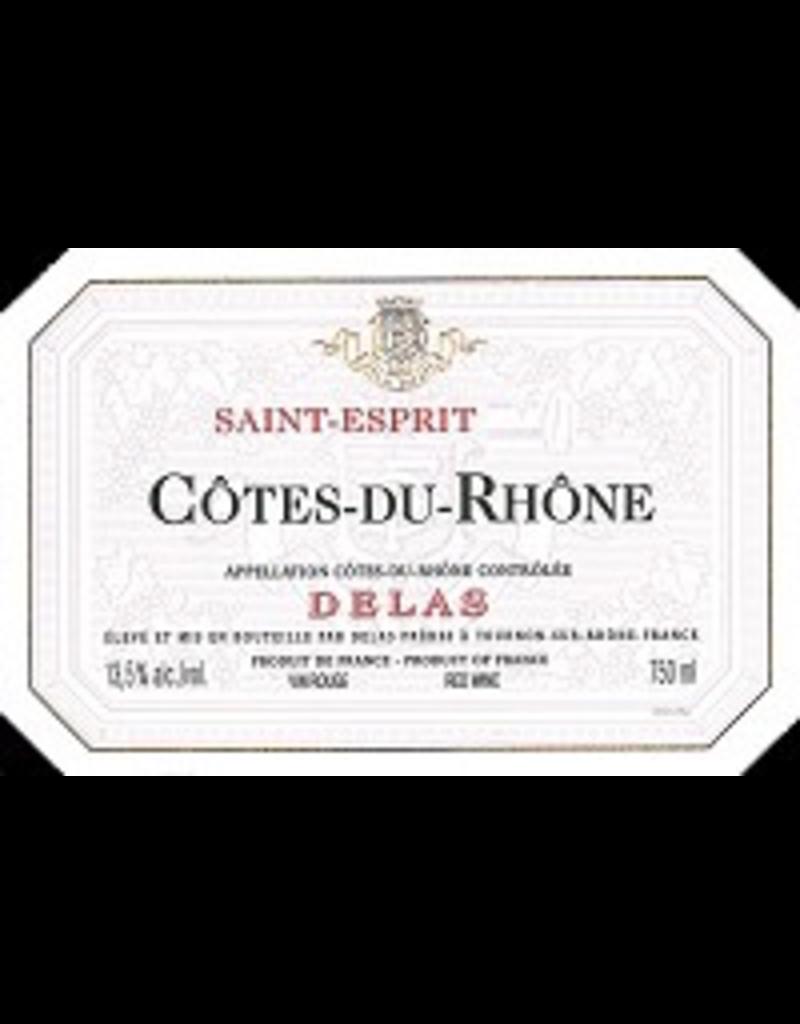 Rhone Delas Cotes-Du-Rhone Saint-Esprit RED 750ml France