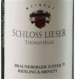 riesling Schloss Lieser Riesling Thomas Haag Mosel 2016 750ml