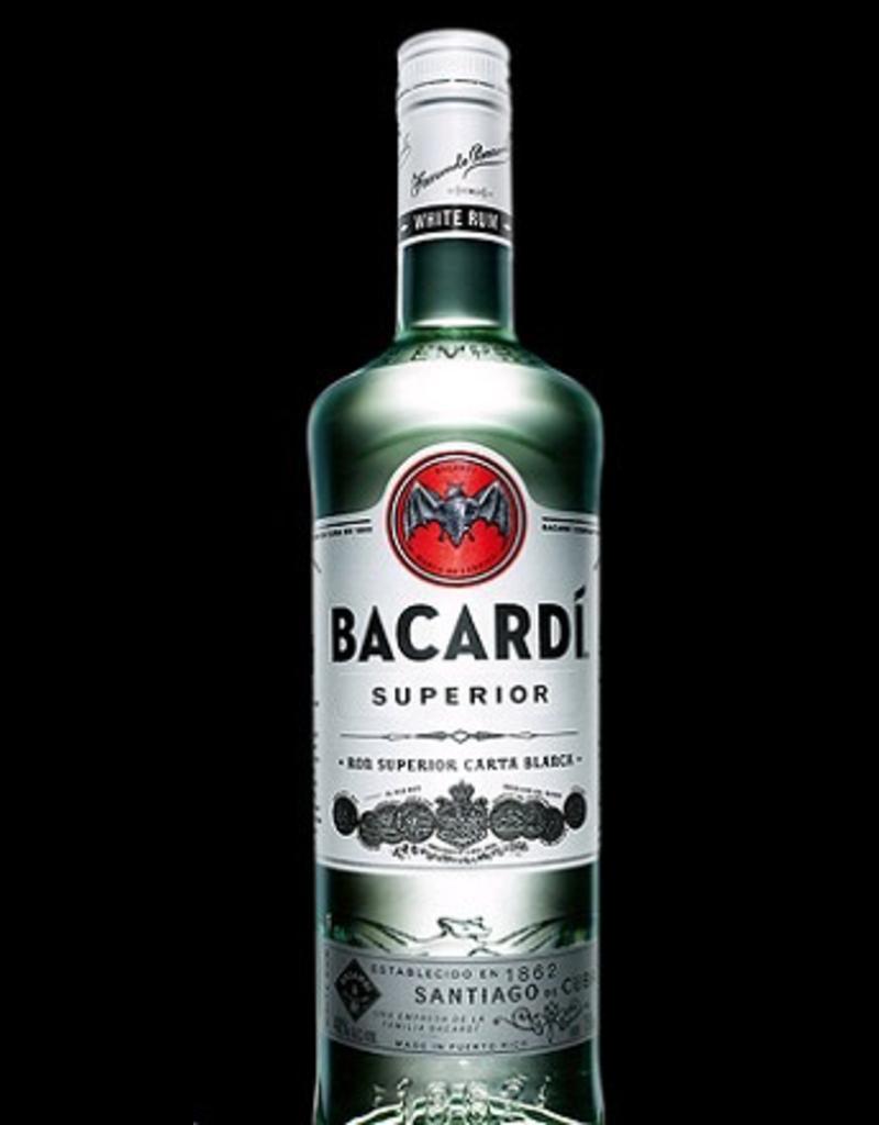 rum Bacardi Silver Rum 1 Liter
