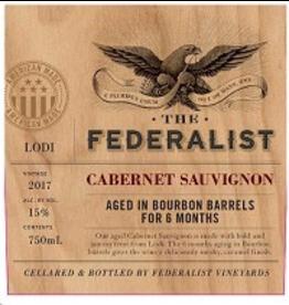 Cabernet Sauvignon The Federalist Bourbon Barrel Aged Cabernet Sauvignon 2017 750ml